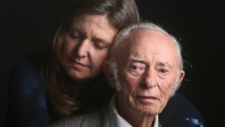 Photo of Alexa Joachim and her grandfather