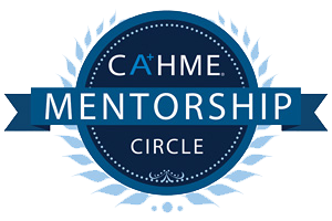 CAHME Mentorship Circle status recognizes that the Master of Healthcare Administration (M.H.A.) degree program at Seton Hall University.