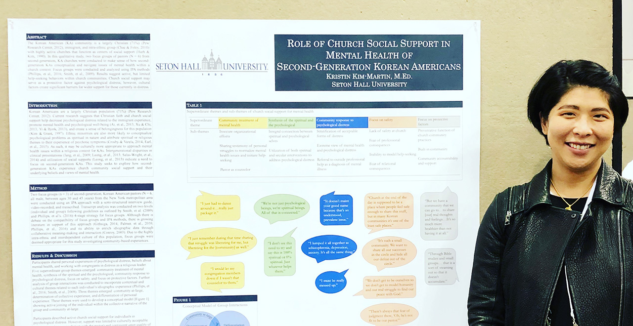 Doctoral Counseling Psychology Student Presents Research at the APA Convention