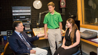 The College's Sports Media program provides students with an opportunity to gain hands-on experience, while learning from industry experts.