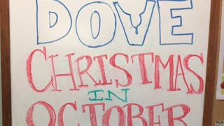 DOVE Christmas in October