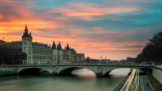 Bridge in Paris, France