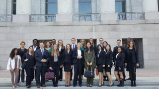 Diplomacy students in D.C.