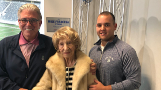 101 year old Fran LaSala appearing on Mike Francesa's radio show.