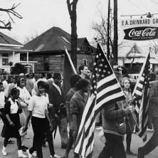 Participants in the Freedom Summer march