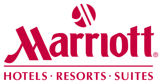 Logo for the Marriott.