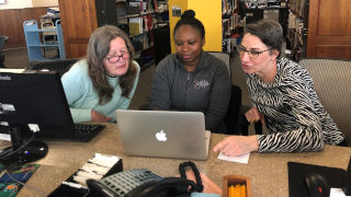 Faculty Members at the Walsh Library Use Seton Hall's Institutional Repository